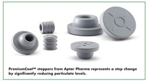 PremiumCoatTM stoppers from Aptar Pharma represents a step change by significantly reducing particulate levels.