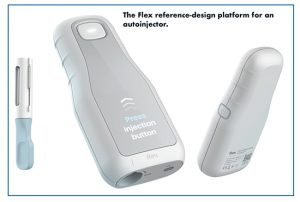 The Flex reference-design platform for an autoinjector.